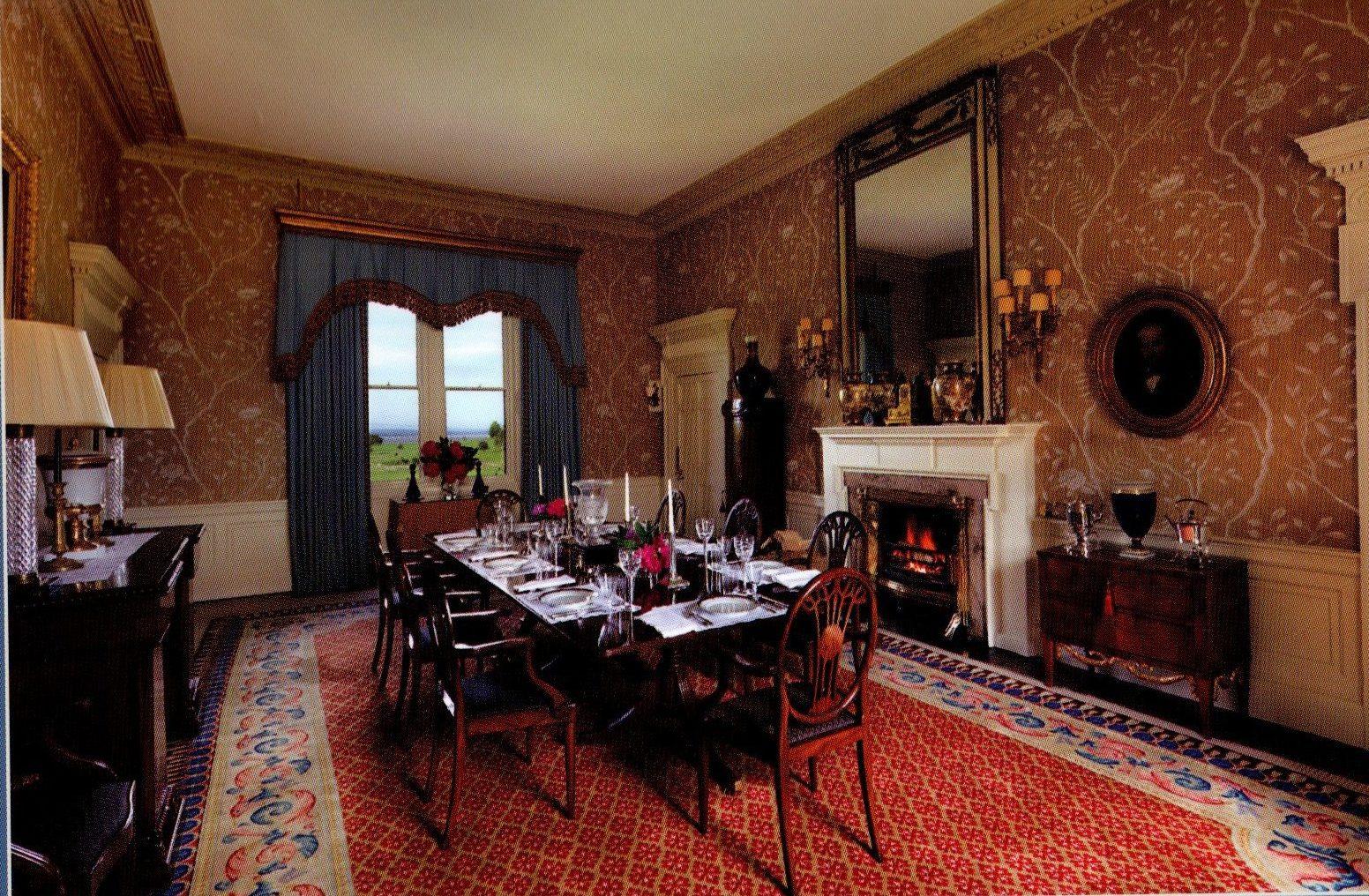 Arbigland House dining room